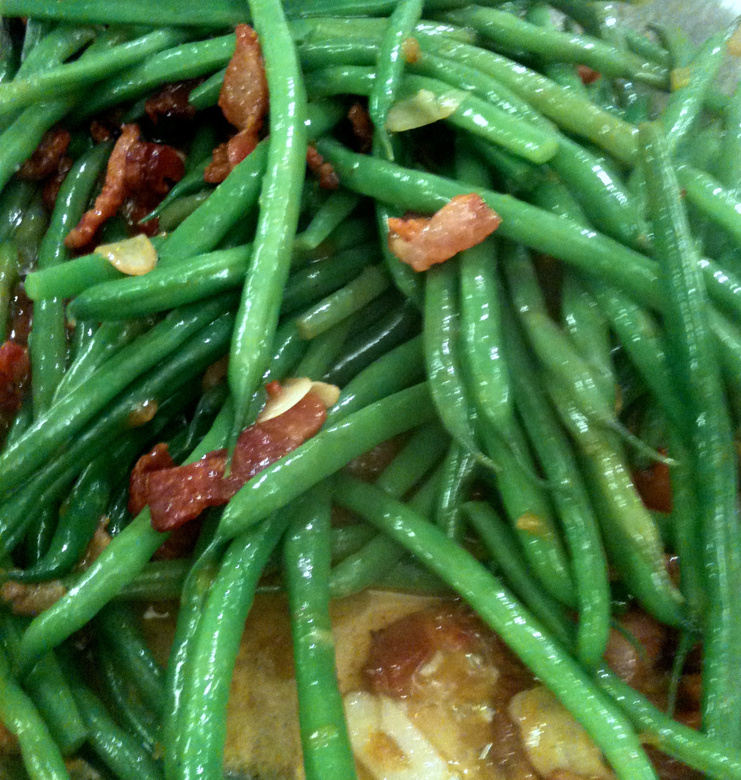 The yummiest haricot verts (French green beans) you'll ever eat! #Real Food Girl: Unmodified