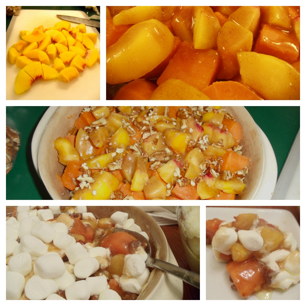 Peachy Keen Sweet Potatoes. Waaay off the beaten path, but you'll be glad you took the hike!! #Real Food Girl: Unmodified