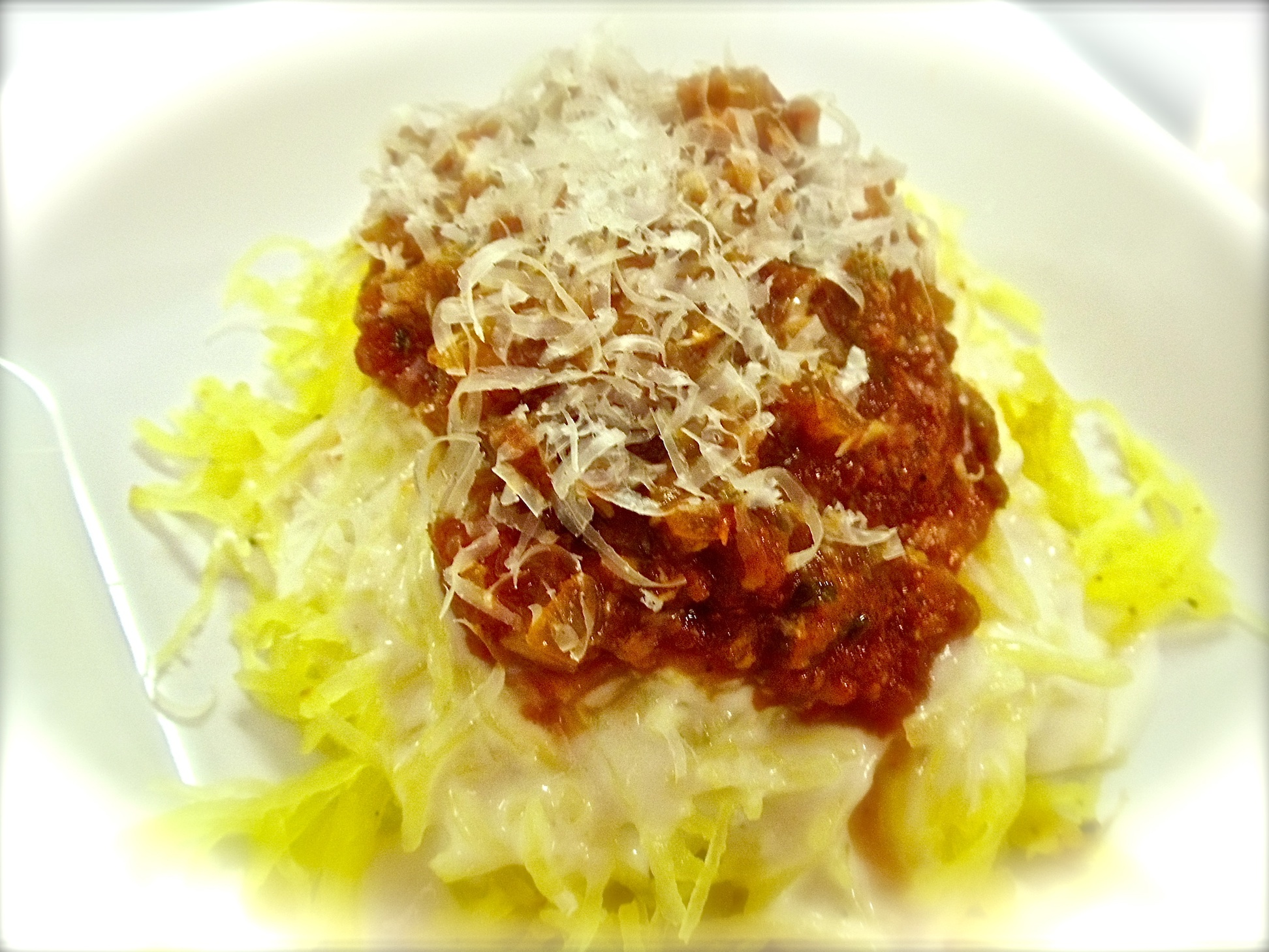 Truly tasty spaghetti squash #Real Food Girl: Unmodified