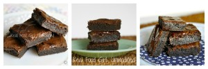 GF Fudge-like brownies. This will be the only brownie recipe you ever turn to once you taste them- they leave all other brownies in the dust!  Real Food Girl: Unmodified