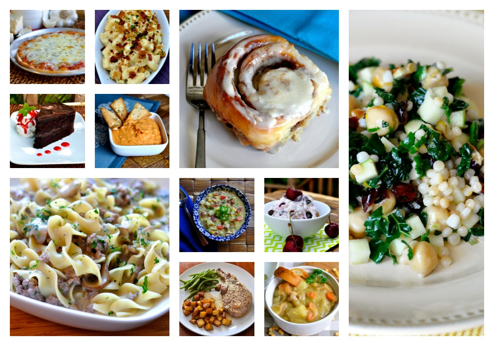 Real Food Girl: Unmodified Recipe Page Collage