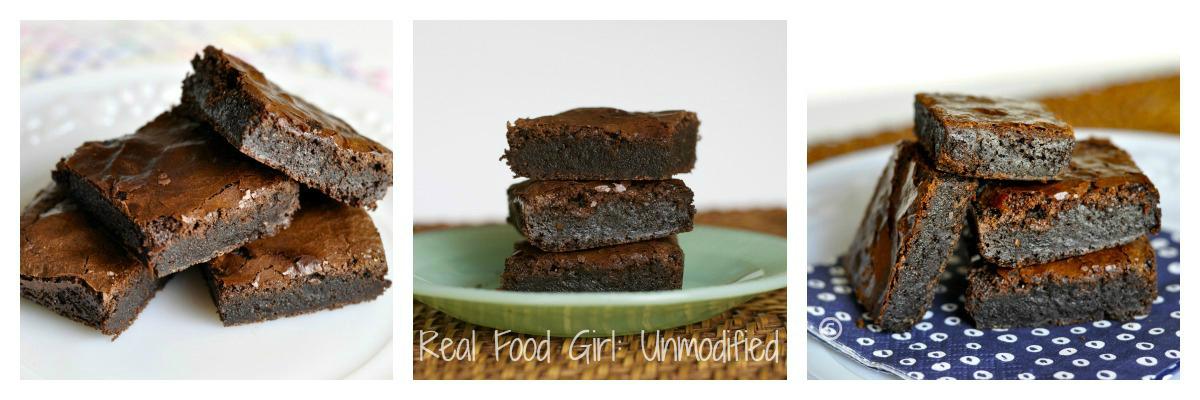 Rich, dense, intense fudge-like brownies GF! Real Food Girl: Unmodified
