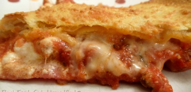 Homemade Italian Stromboli. Fresh organic cheeses, Italian meats, and homemade sauce and dough! The best! Real Food Girl: Unmodified