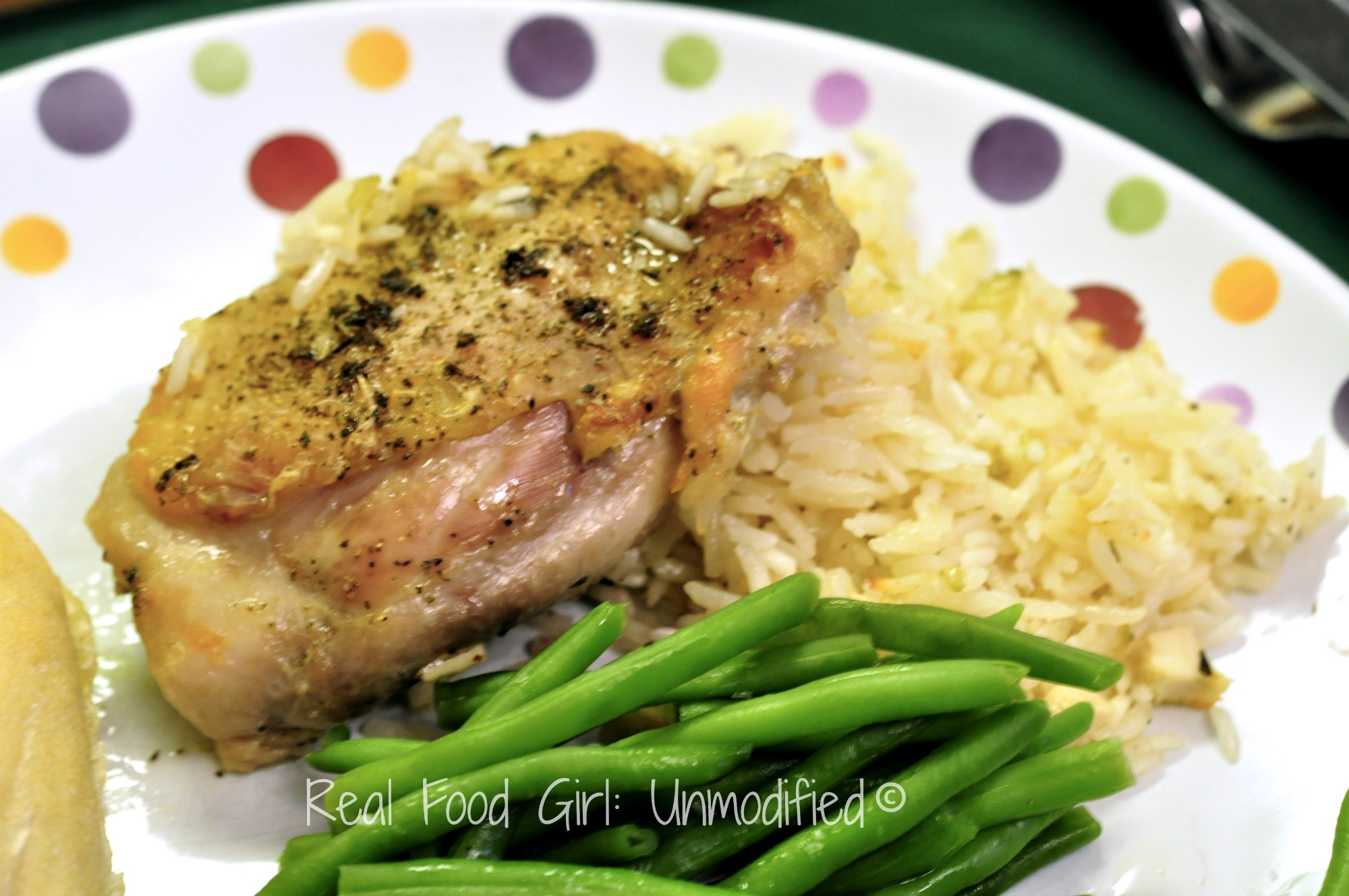 Lazy baked chicken and rice real food girl lazy baked chicken and rice real food forumfinder Choice Image