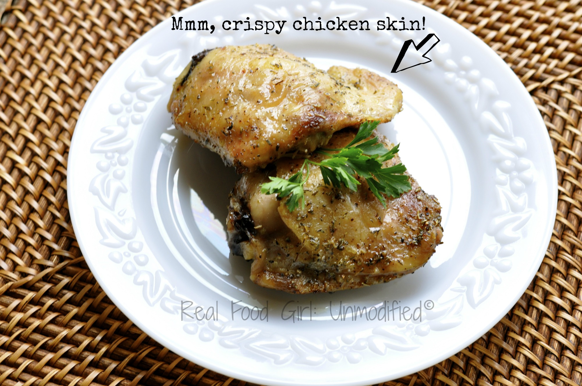 Organic, Non-GMO Herb Roasted Chicken- Real Food Girl: Unmodified