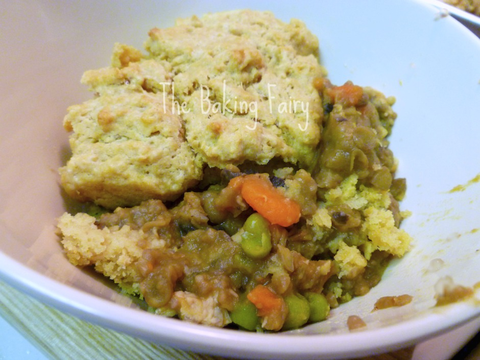 Chicken Lentil Pot Pie from The Baking Fairy- Guest Post for Real Food Girl: Unmodified
