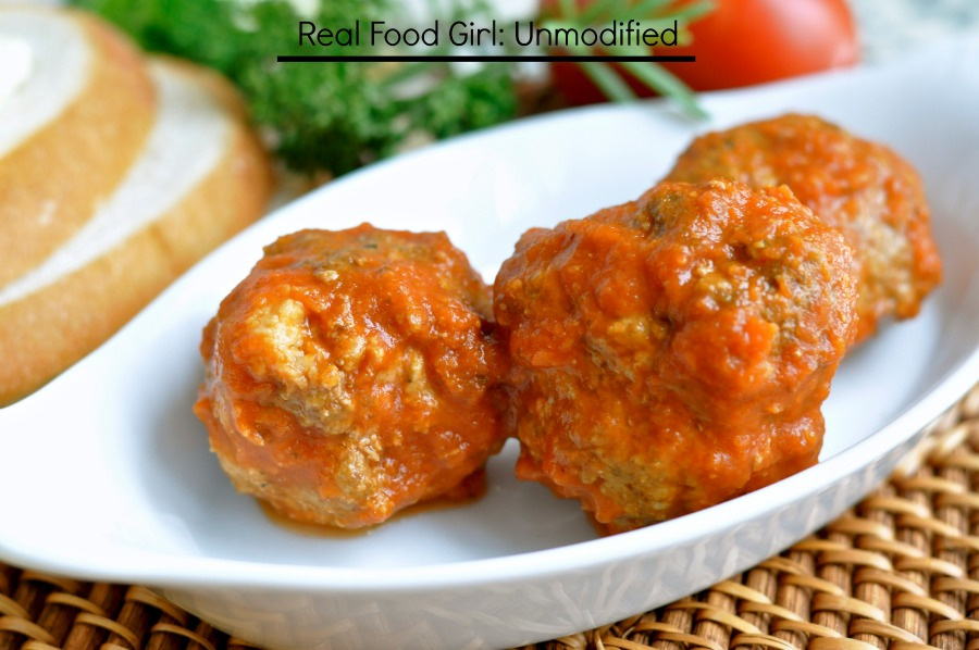 Veal, Pork and Ground Beef Meatballs from Real Food Girl. This is as authentic as it gets folks! If you want great meatballs, this is THE recipe!