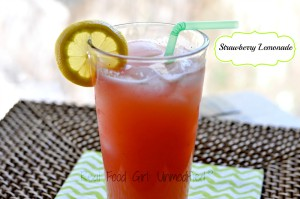 123 Strawberry Lemonade by Real Food Girl: Unmodified. And not one drop of HFCS!