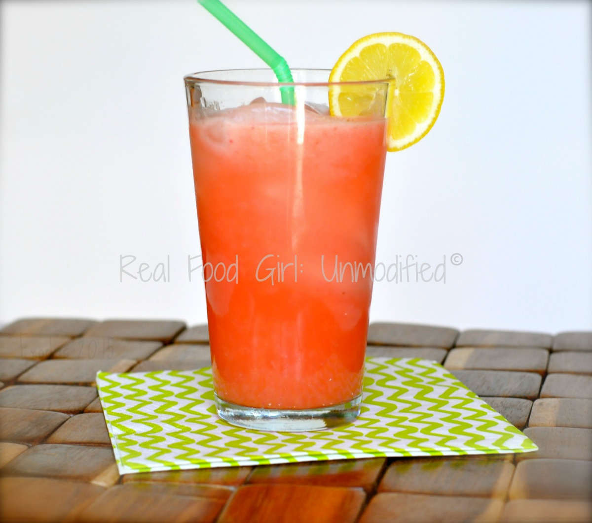 real food girl unmodified real food strawberry lemonade