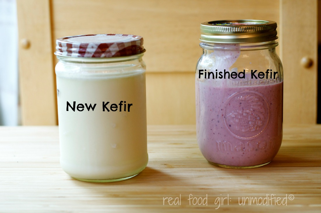 Cconquering Milk Kefir with Real Food Girl: Unmodified