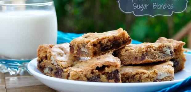 Organic Brown Sugar Blondies by Real Food Girl: Unmodified