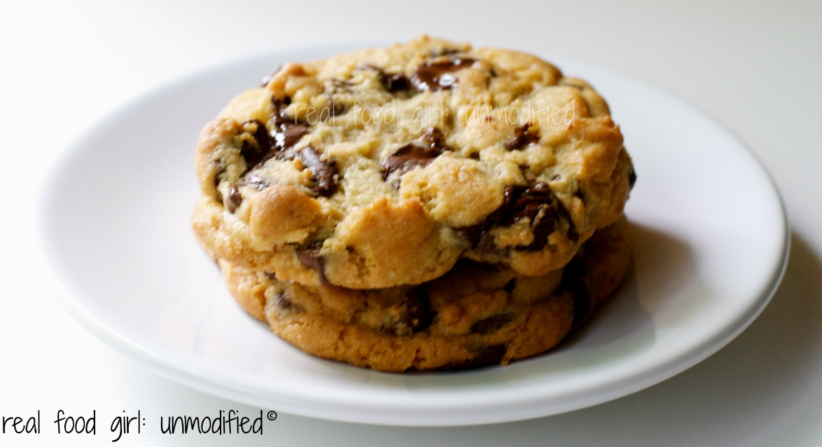 Real Food Girl: Unmodified The Best Chocolate Chip Cookie