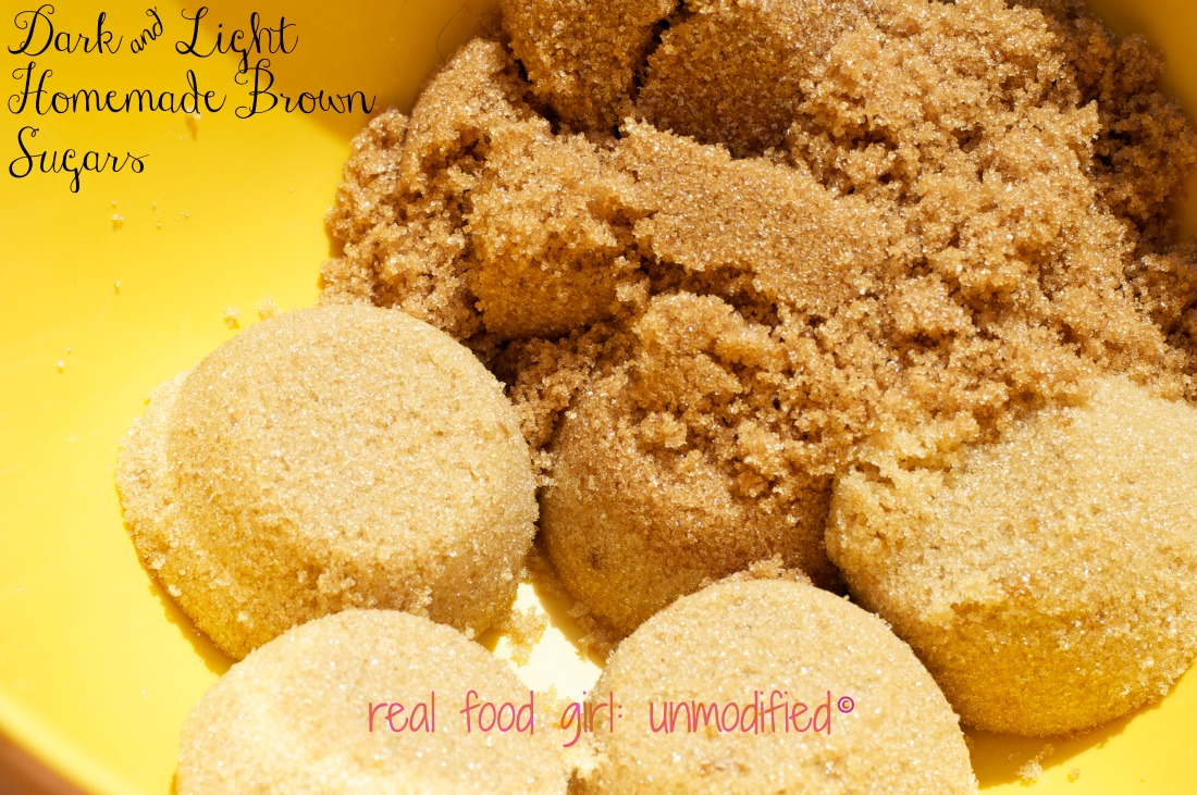 Homemade Organic Brown Sugar by Real Food GIrl: Unmodified