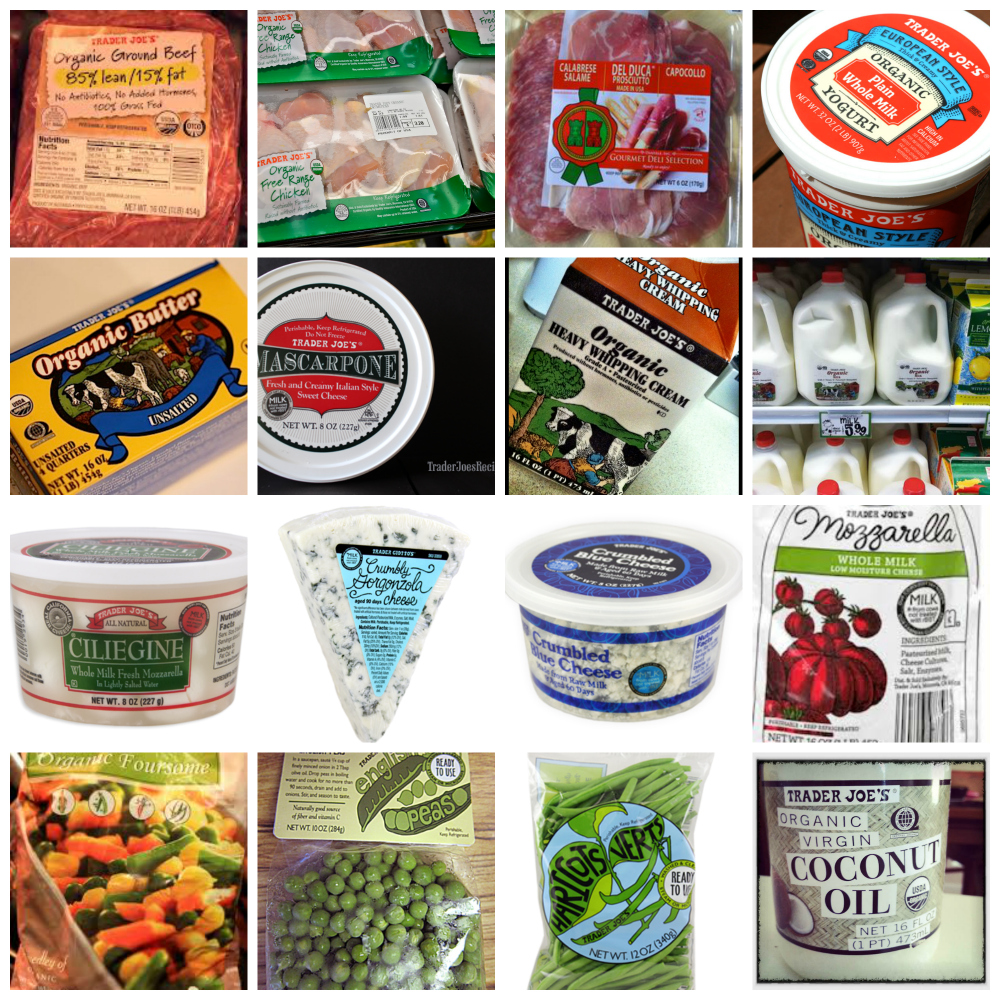 What to buy at Trader Joe's by Real Food Girl: Unmodified