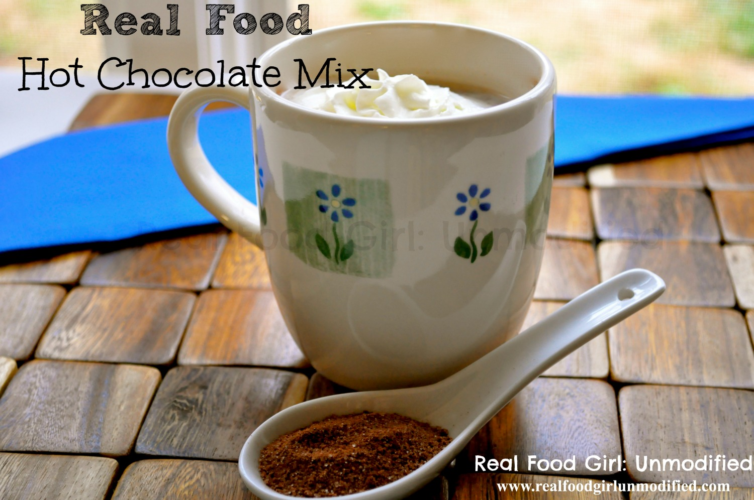 Real Food Hot Cocoa Mix by Real Food Girl: Unmodified