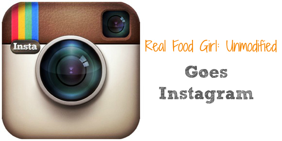 Real Food Girl January Instragam Challenge