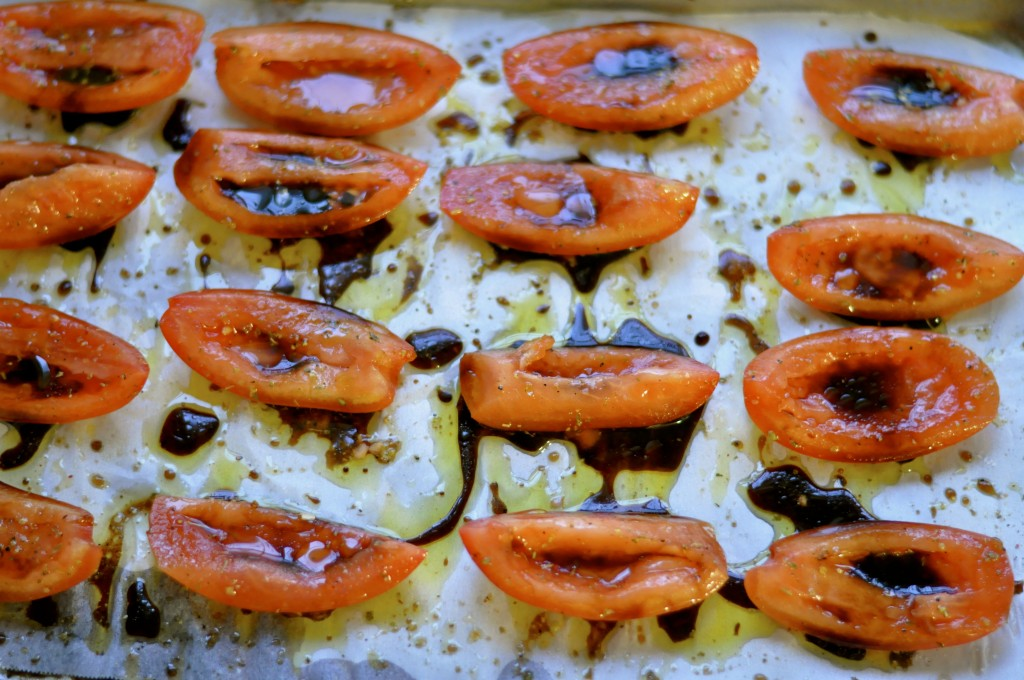 Real Food Girl: Unmodified Balsamic Roasted Tomatoes- SO good!