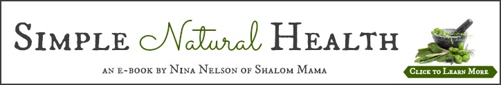 Shalom Mama Simple Natural Health featured onReal Food Girl: Unmodified