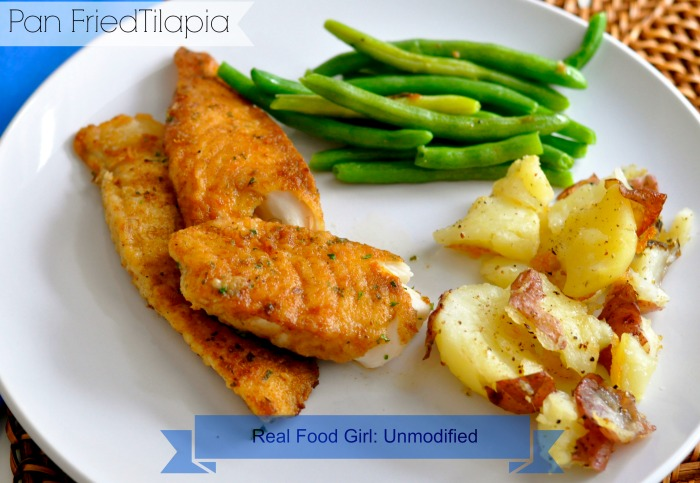 Pan-fried Cumin-Cayenne Tilapia by Real Food Girl: Unmodified