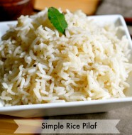 Simply Perfect Rice Pilaf by Real Food Girl: Unmodified