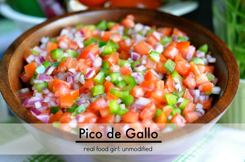 Salsa Fresca- Real Food Pico de Gallo | Real Food Girl