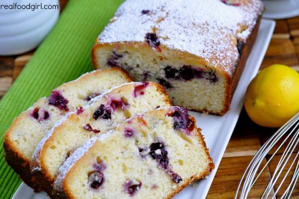 Lemon Blueberry Loaf Cakes by Real Food Girl: Unmodified