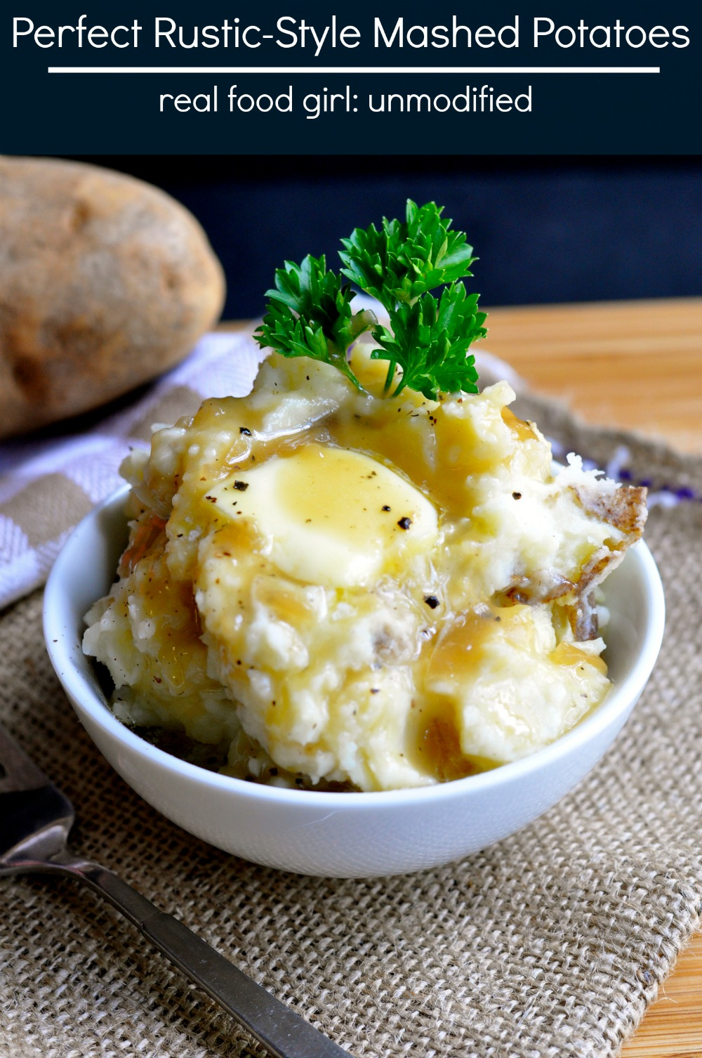 Perfect Mashed Potatoes by Real Food Girl Unmodified
