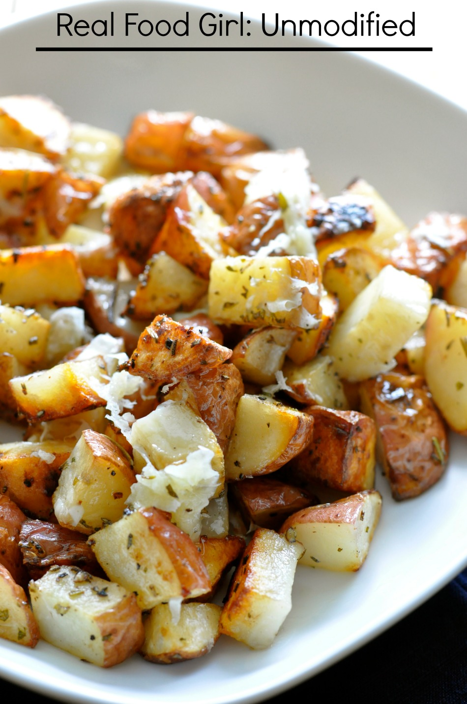 Grilled Parmesan-Herbed Potatoes by Real Food Girl: Unmodified