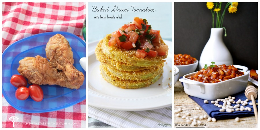 Real Food Picnic Recipe Round Up by Real Food Girl: Unmodified|| Features fantastic real food recipes from several great bloggers.