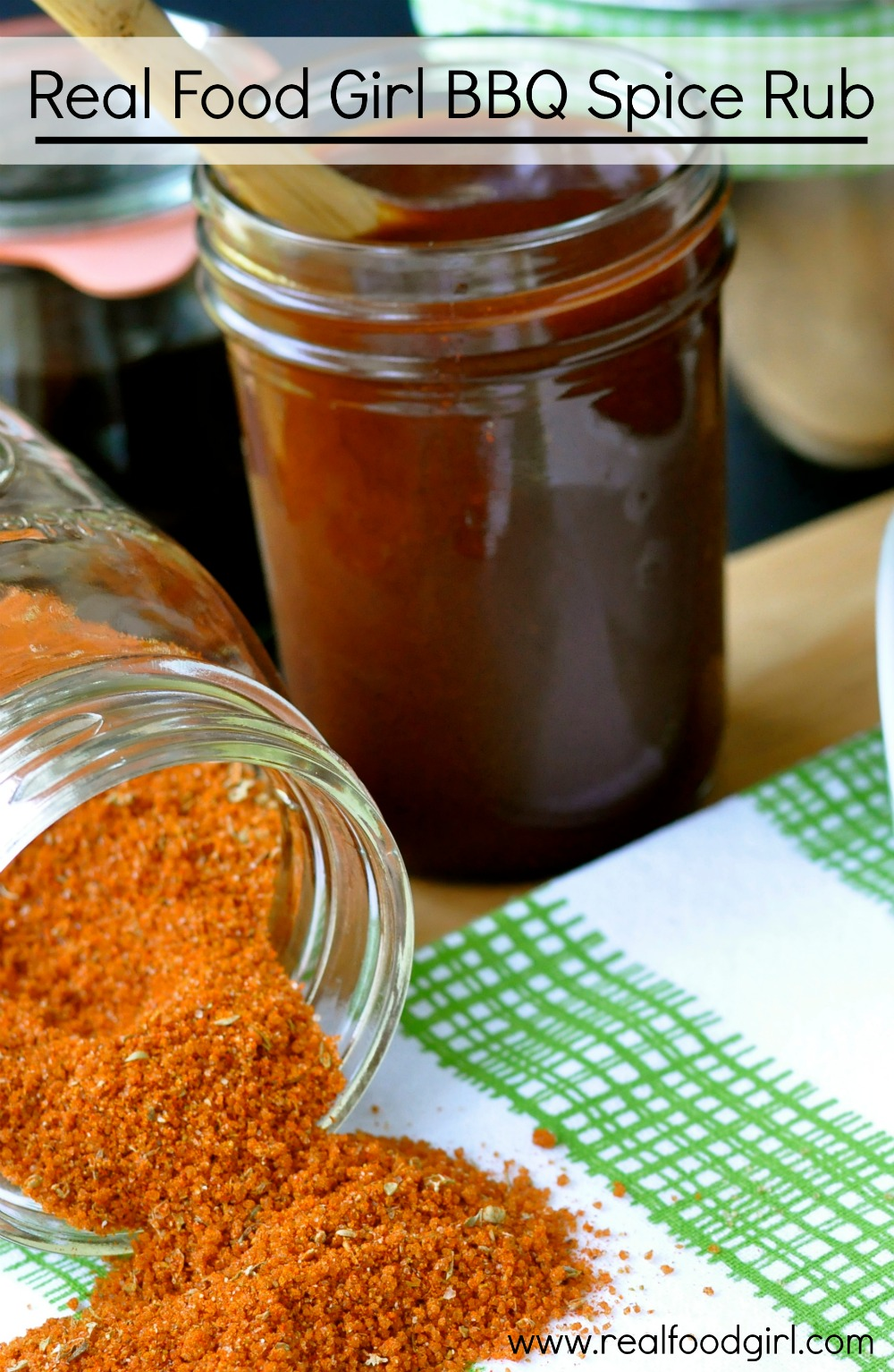 Real Food Girl BBQ Spice Rub- for ribs and more! www.realfoodgirl.com