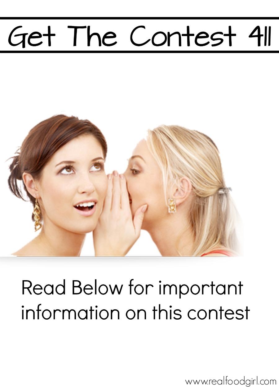 Real Food Girl Blendtec 725 Giveaway Enter before 12-7-14