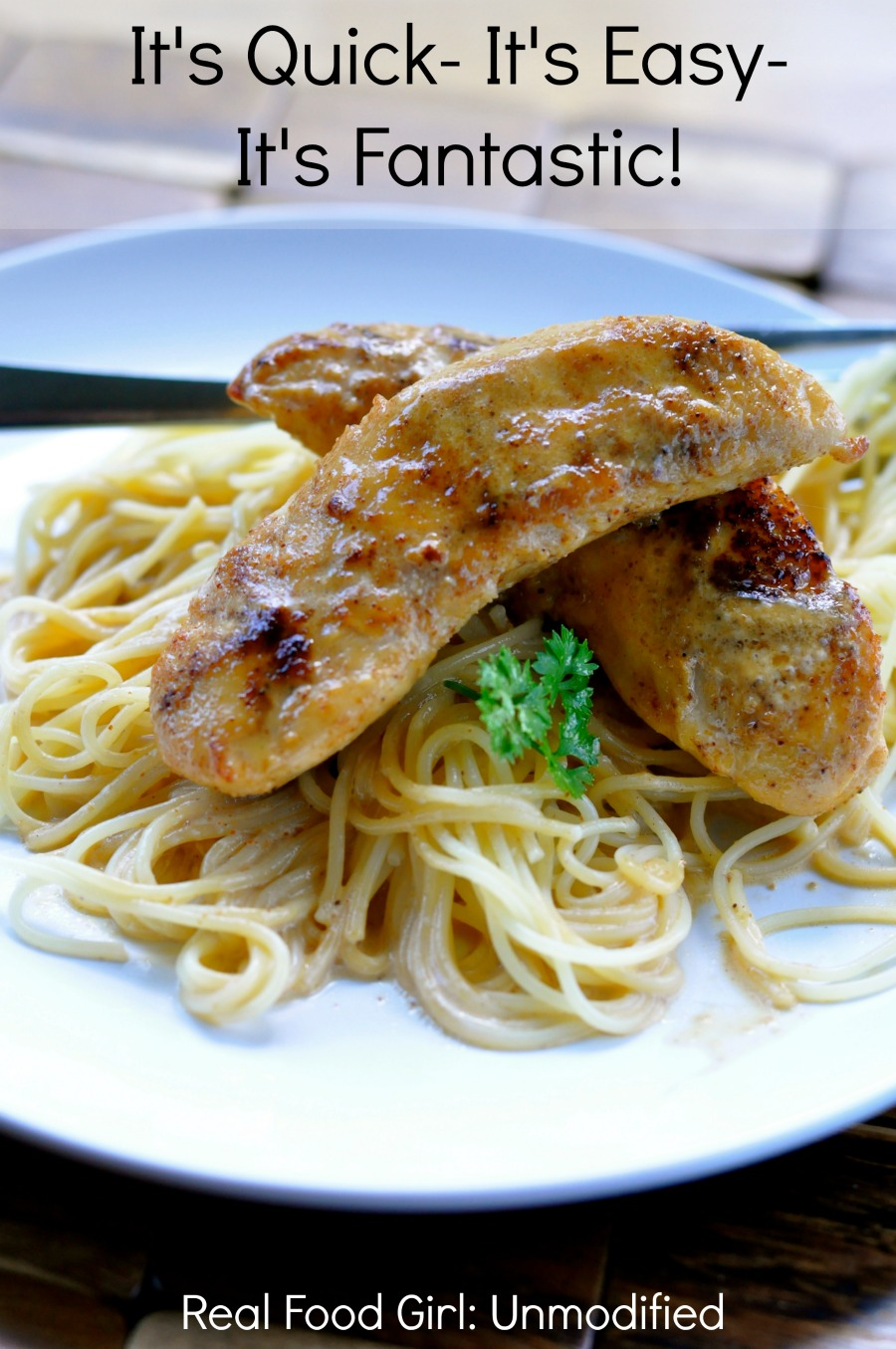 Crazy Chicken- Super fast, easy, ridiculously tasty chicken dish by Real Food Girl: Unmodified