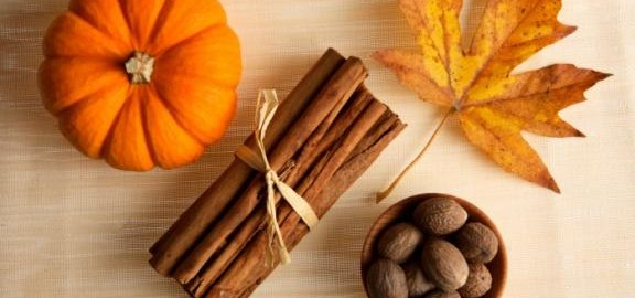 pumpkin spice blog image header