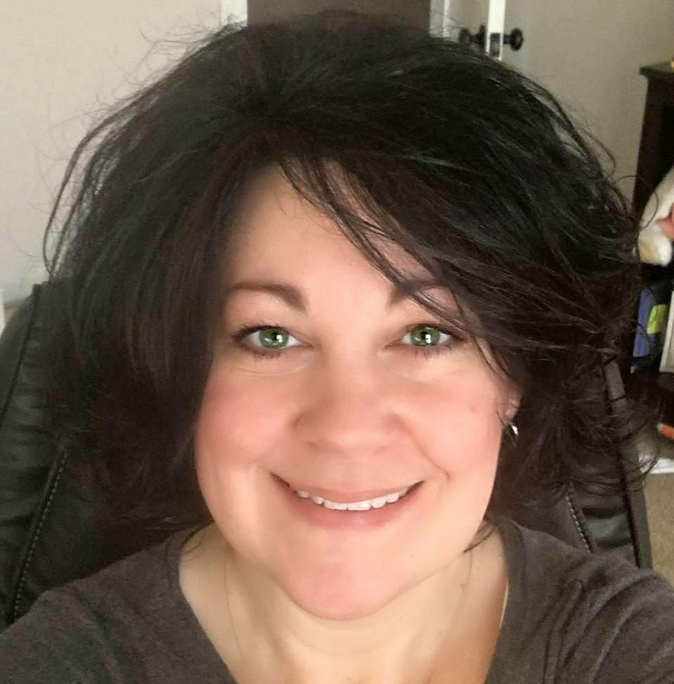 Kristine dark hair 2016