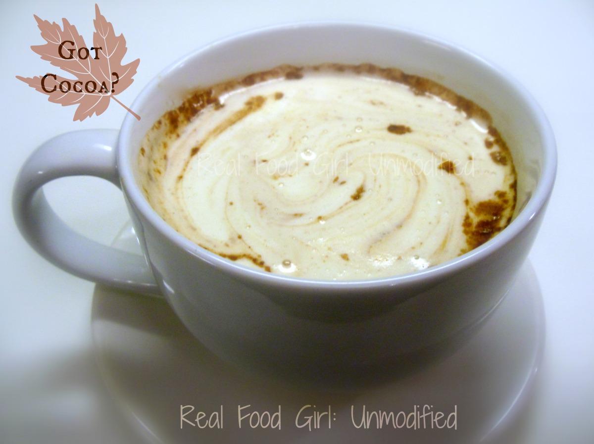 Real Food Girl: Unmodified Hot Chocolate Truffle Balls- Organic and non-GMO!