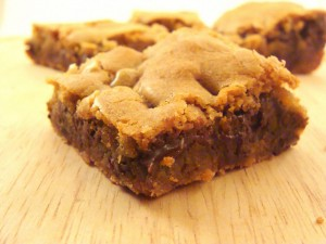 Get ready for a chewy, butterscoth-y taste explosion in your mouth...These Blondies have more fun so make up a pan! Organic/GMO-Free from #Real Food Girl: Unmodified
