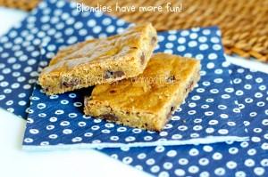 Brown Sugar Blondies by Real Food Girl: Unmodified- because blondies have more fun!
