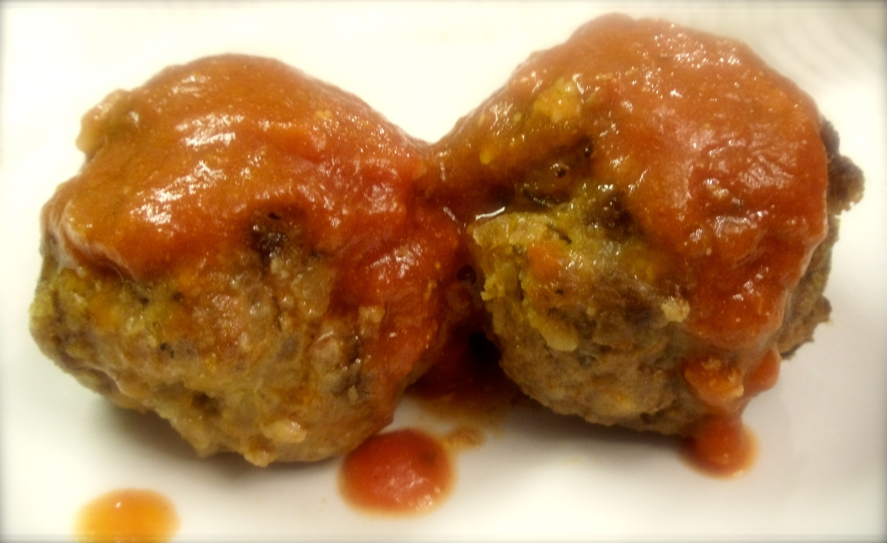 Melt in your mouth meatballs made with beef, pork and veal. It pays to marry into an Italian Family! #Real Food Girl: Unmodified