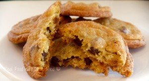 Chewy Chocolate Chip Cookies w/Orange Zest (Organic/GMO-Free) You have to try these now! Better than NYT Chocolate Chip Cookies. #Real Food Girl: Ummodified