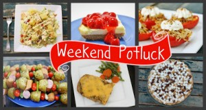 I was featured on Weekend Potluck! #Real Food Girl: Unmodified