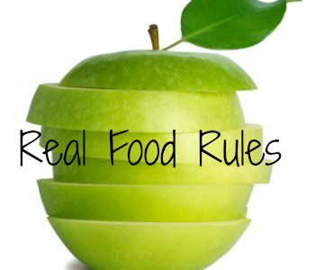 Real Food Girl: Unmodified features MY REAL FOOD RULES