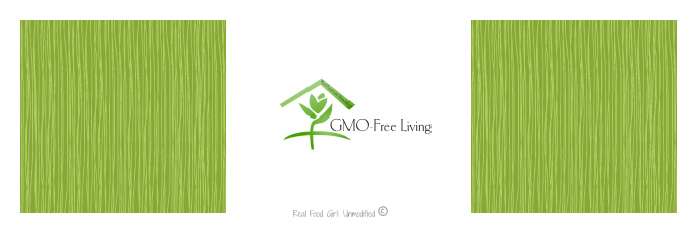 GMO-Free Living. Great read from Real Food Girl: Unmodified