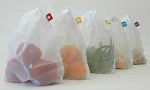 Real Food Girl Blog Re-Launch Give-Away. Mesh Produce Bags