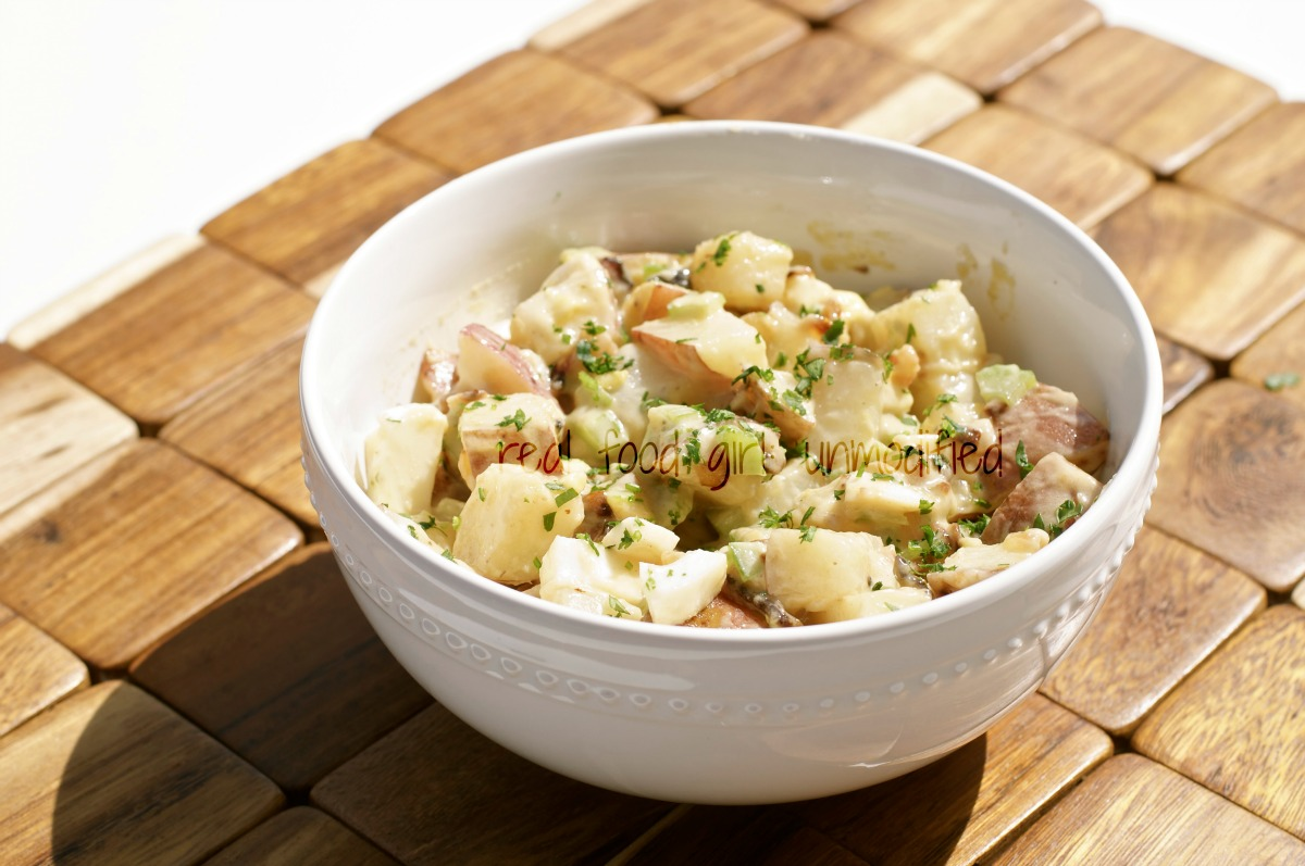 real food girl: unmodified| Not Yo Mama's Potato Salad