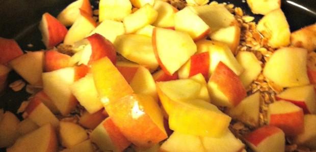 Real Food Girl Presents: Juggling Real Food and Real Life. Apple Cinnamon Slow Cooker Oatmeal