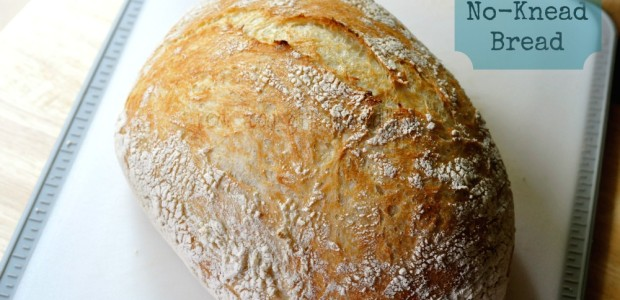 No-Knead Rustic Bread by Real Food Girl: Unmodified