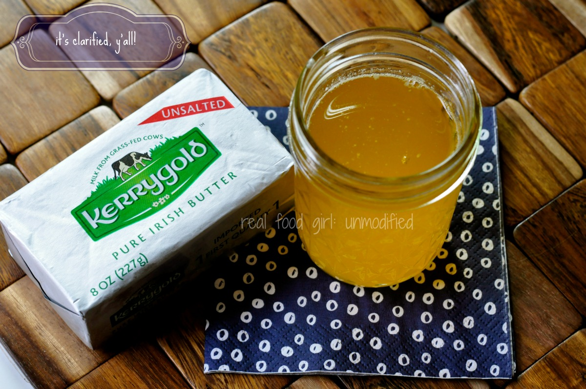 Ghee Whiz--by Real Food Girl: Unmodified