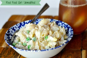 Organic Chicken Pasta Salad--Real Food Girl: Unmodified