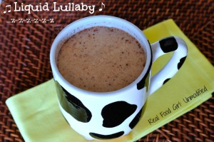 Liquid Lullaby Slep Tonic by Real Food Girl: Unmodified