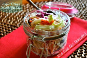 Apple Poppy Seed Coleslaw by Real Food Girl: Unmodified